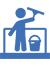 glasbewassing kantoorschoonmaak