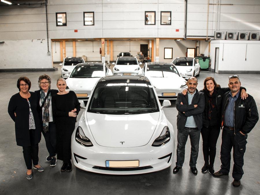 Tesla als duurzaam bedrijfsvoertuig